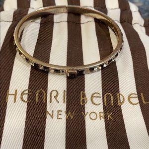 Henri bendel brown and white bangle